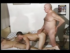 gay grandpa sex : huge twink cum