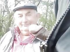gay grandpa sex : huge twink cum