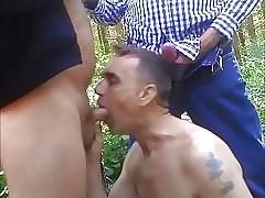 hot gay guys : twink swallows cum